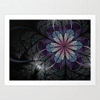 Flower Of Melancholy Art Print