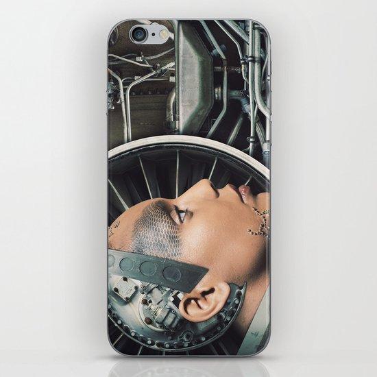 The Female Engine iPhone & iPod Skin