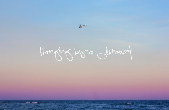 Hanging by a Moment Art Print