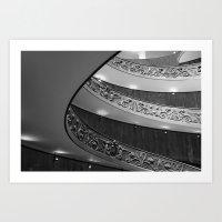 Vatican Circular Stairca… Art Print