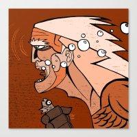 Aguaman Canvas Print