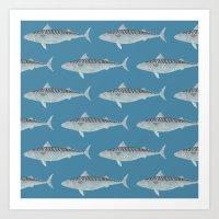 Wholly Mackerel Art Print