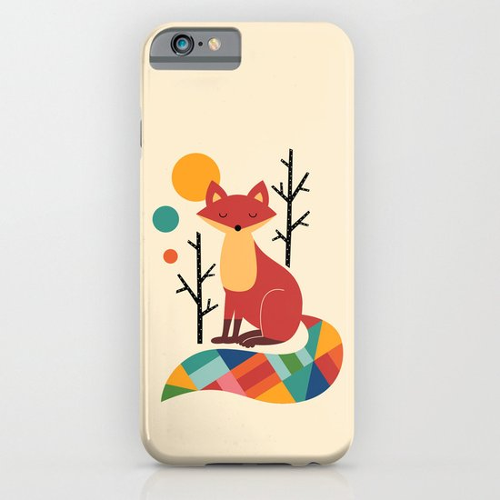 Rainbow Fox iPhone & iPod Case