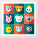 PET PARADE Art Print