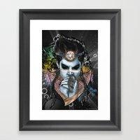 Indigo Child Framed Art Print