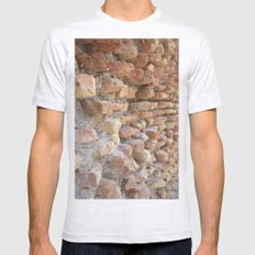 Hadrian's Wall Mens Fitted Tee Ash Grey SMALL