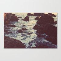 The Sun & The Sea III Canvas Print