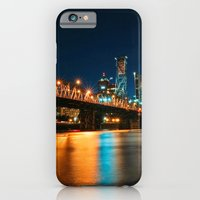 iPhone & iPod Case featuring Bridgetown by PDXLinds