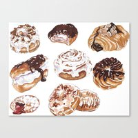 Donuts Canvas Print