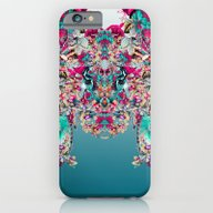 Botanical Blue iPhone 6 Slim Case