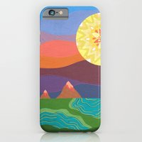 Sunset Mountains iPhone 6 Slim Case