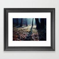 Forest Floor Framed Art Print