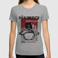 The Four Horsemen Womens Fitted Tee Athletic Grey SMALL