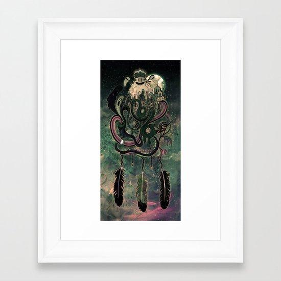 The Dream Catcher: Old Hag's Bane Framed Art Print