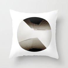 Angles Redux Throw Pillow