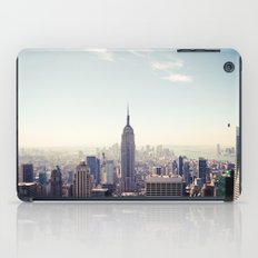 Manhattan - Empire State Building Pano | colored iPad Case