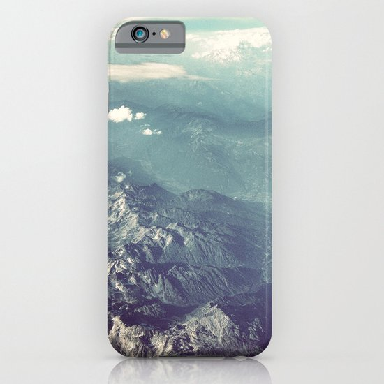 Aerial View of the French Alps iPhone & iPod Case