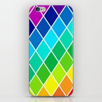 Tetrahedral Rainbow iPhone & iPod Skin