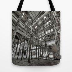 Metallic Structures Tote Bag