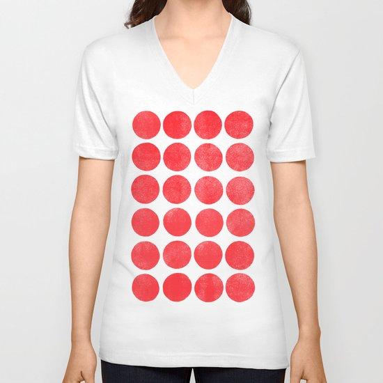 Colorplay Flamingo V-neck T-shirt