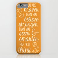 iPhone & iPod Case featuring Winnie the Pooh by Typequotsters