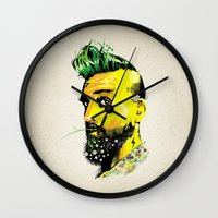 GREEN BEARD Wall Clock