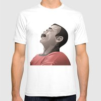 Chris Hadfield - Start Sculpting Mens Fitted Tee White SMALL