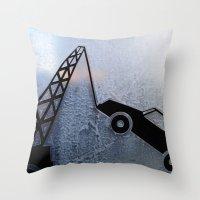 Urban Abstract 99 Throw Pillow