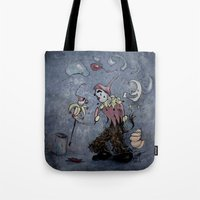 Night Clown Tote Bag