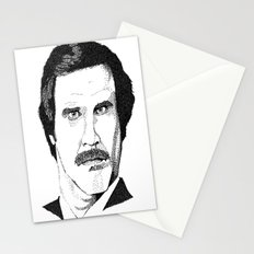 I'm Ron Burgundy? Stationery Cards