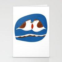 Robin X-mas Stationery Cards