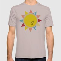 In The Sun Mens Fitted Tee Cinder SMALL