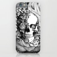 Butterfly Rose Skull Wit… iPhone 6 Slim Case