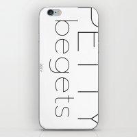 Petty begets Petty iPhone & iPod Skin
