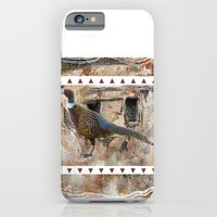 iPhone & iPod Case featuring Pheasant Pillow Design by bsvc