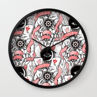 The Blood offering Wall Clock