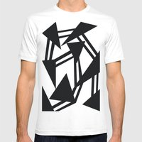 Race Mens Fitted Tee White SMALL