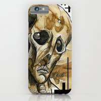 iPhone & iPod Case featuring dead head by Mr.Klevra