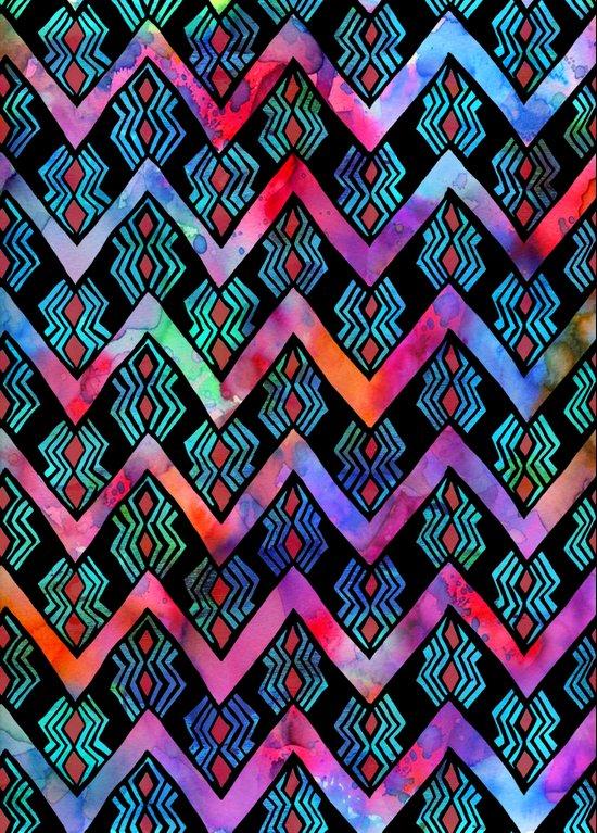 Diamond Chevron - Pop Art Print