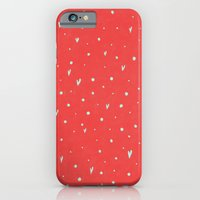 Coral Hearts iPhone 6 Slim Case