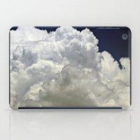 Navy Cloud iPad Case