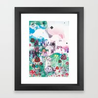 Wonder World Framed Art Print