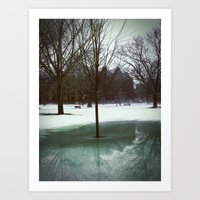 Bare Reflection Art Print