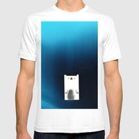 Polar Night Mens Fitted Tee White SMALL