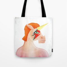 Unicorn Bowie Tote Bag