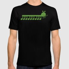 Caterpillar Song Mens Fitted Tee Black SMALL