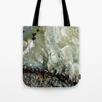 chrysocolla & calcite 2 Tote Bag
