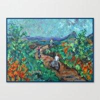 Mountain Trail Canvas Print