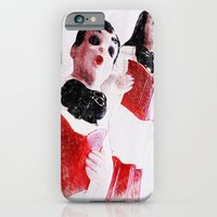 iPhone & iPod Case featuring Nana's Carolers by christopher justin gilner photographic