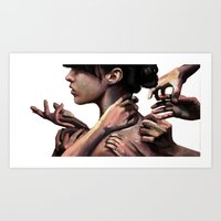 You Know I'd Rather Work… Art Print